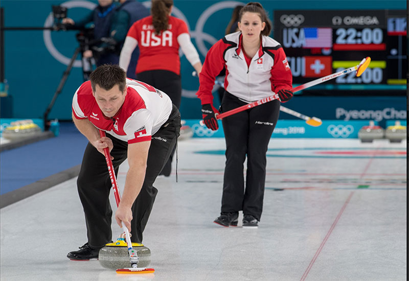 Swiss, Russians Join Canada in Olympic Doubles Playoffs