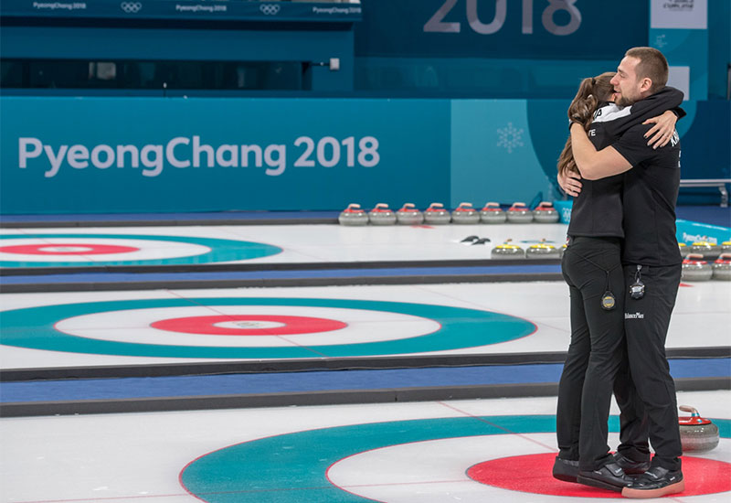 Russians Win Olympic Mixed Doubles Curling Bronze
