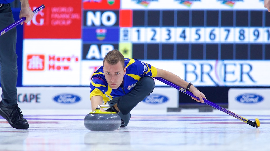REGINA CROWD RIDES BOTTCHER INTO BRIER SEMIFINAL