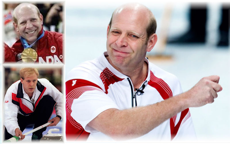 KEVIN MARTIN INDUCTION INTO WORLD CURLING HALL OF FAME IN VEGAS