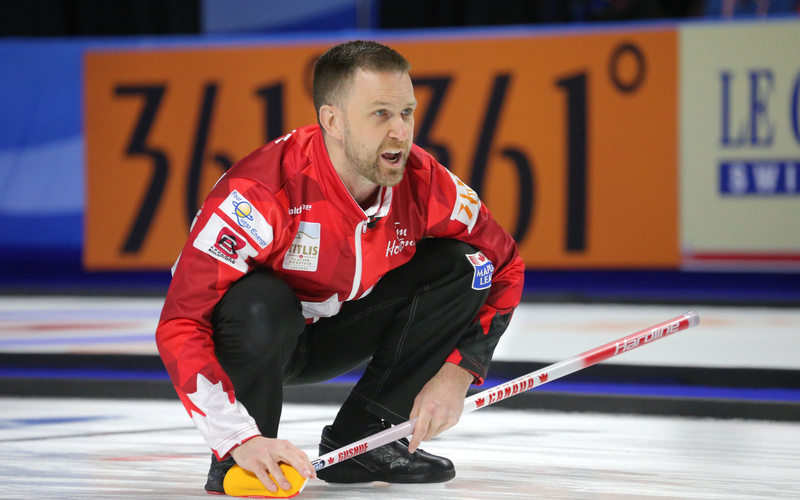 Sweden and Canada To Meet for World Curling Title