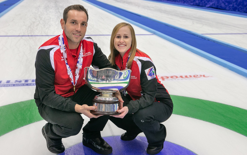 SWITZERLAND WINS WORLD MIXED DOUBLES CURLING CHAMPIONSHIP