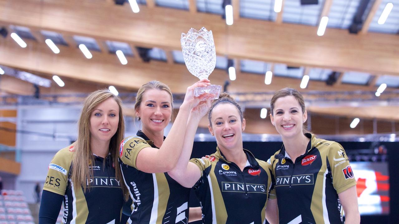 Rachel Homan wins Humpty's Champions Cup