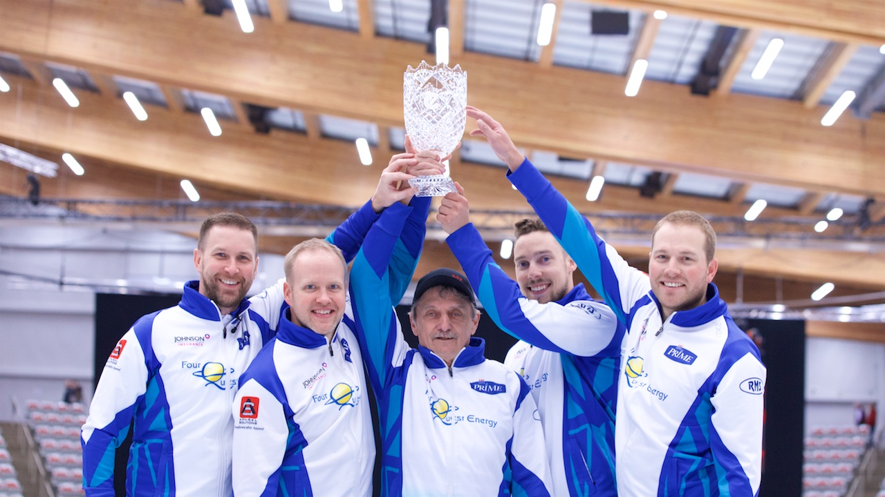 Brad Gushue wins Humpty's Champions Cup