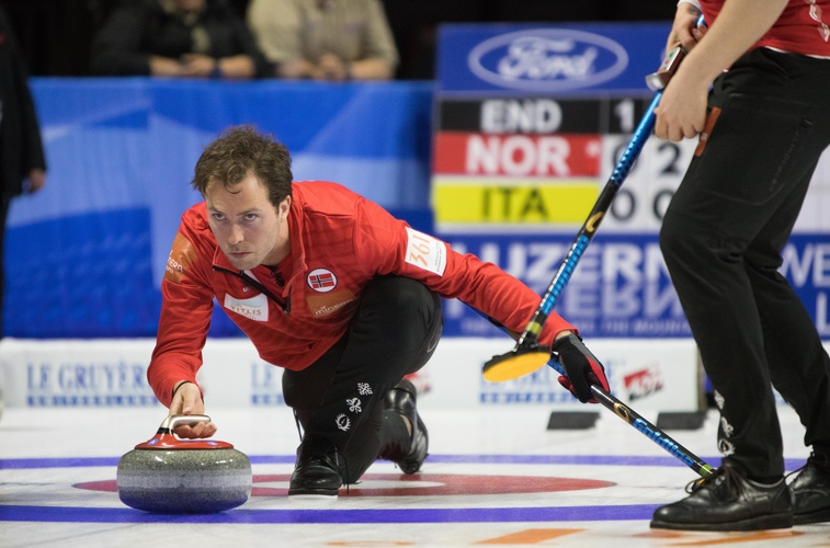Norway, Korea improve to 2-0 at Vegas Men's Worlds