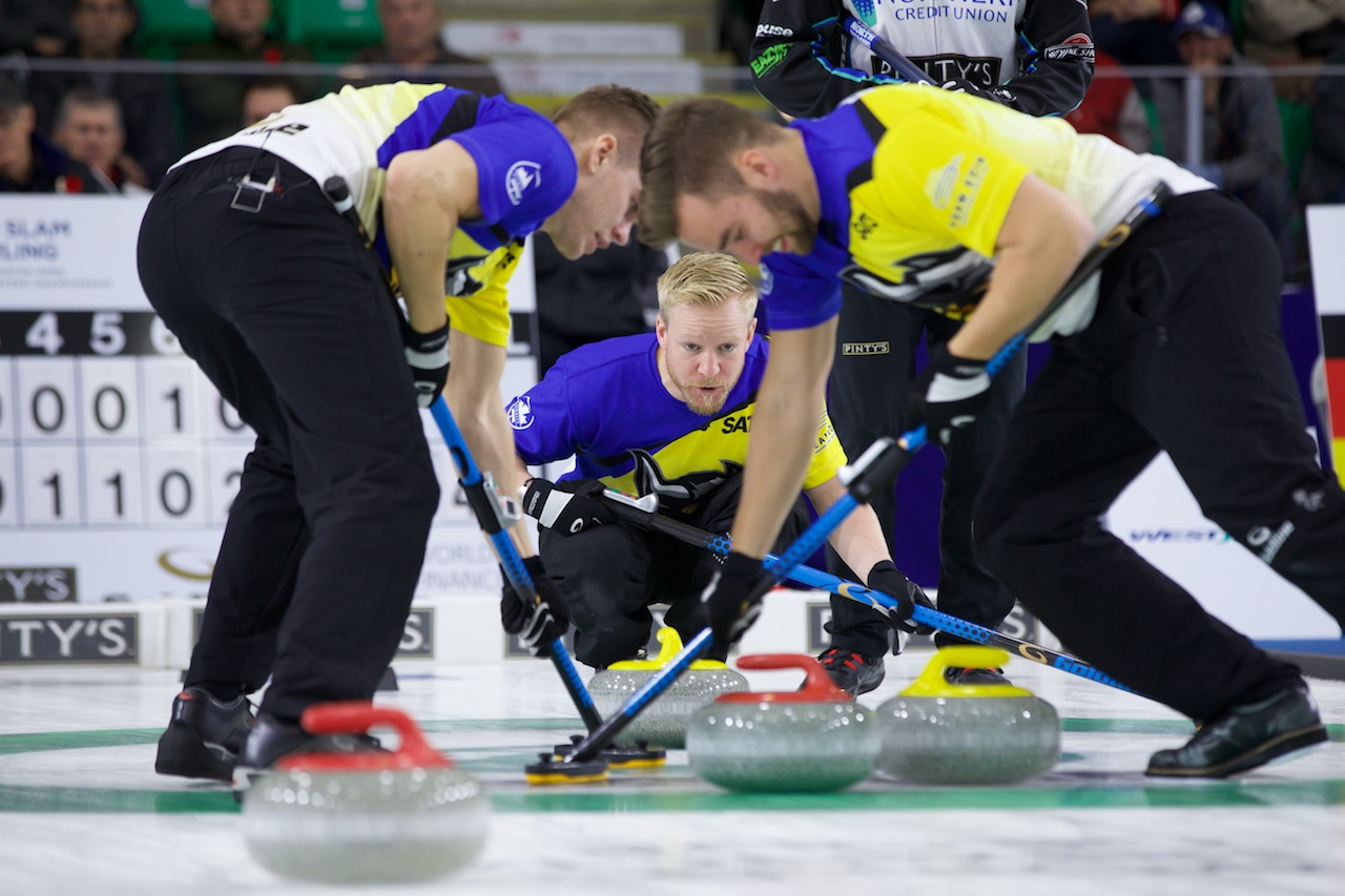 SWEDEN'S NIKLAS EDIN LEAD VEGAS WORLDS AT 2-0