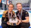 Homan/Edin Win Arctic Cup Mixed Doubles Title