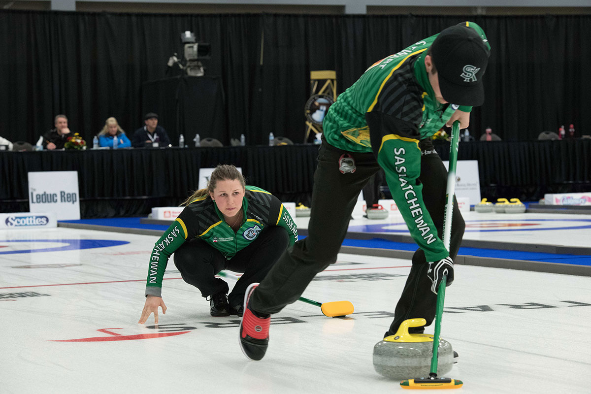 Saskatchewan Announces Mixed Doubles Series