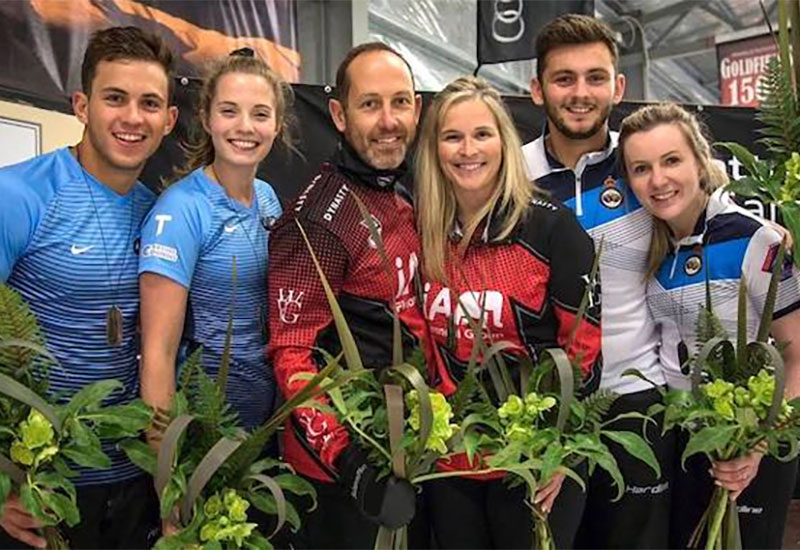 Canada's Jones/Laing win Audi quattro Winter Games NZ Mixed Doubles