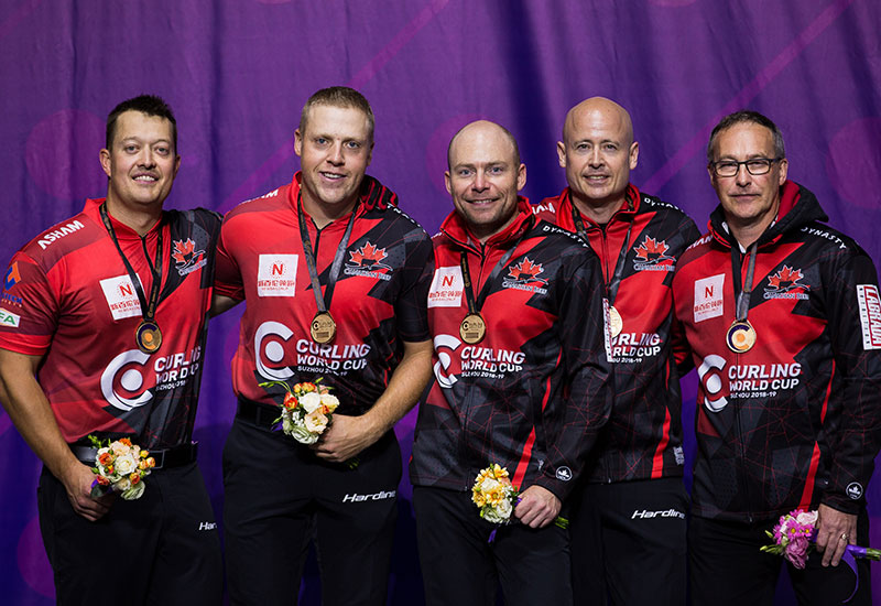 CANADA'S KEVIN KOE WINS CURLING WORLD CUP