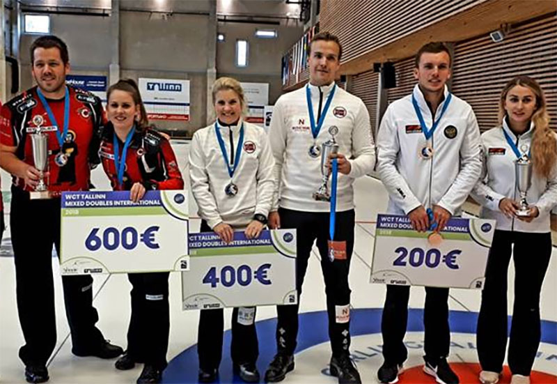 Perret/Rios win WCT Tallinn Mixed Doubles International