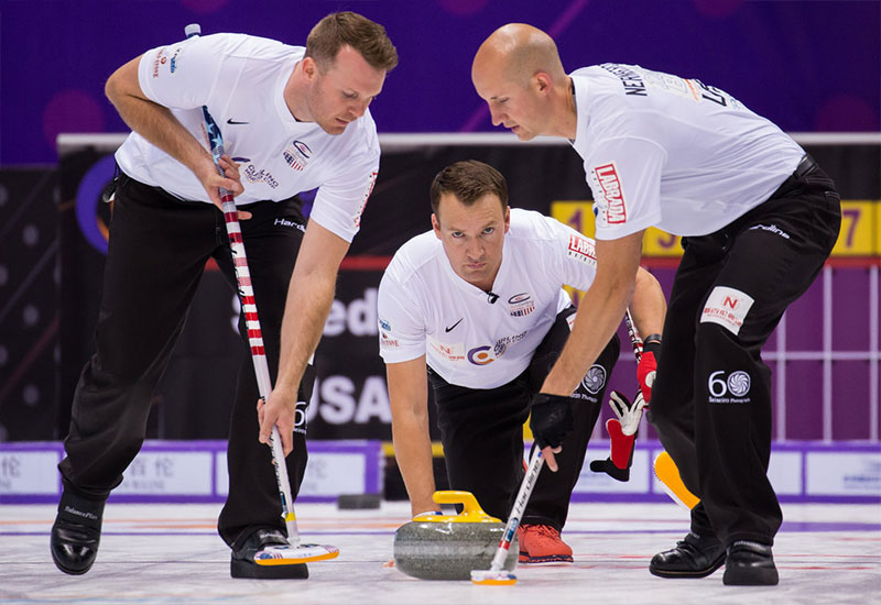 Americans, Canadians begin the inaugural Curling World Cup 3-0