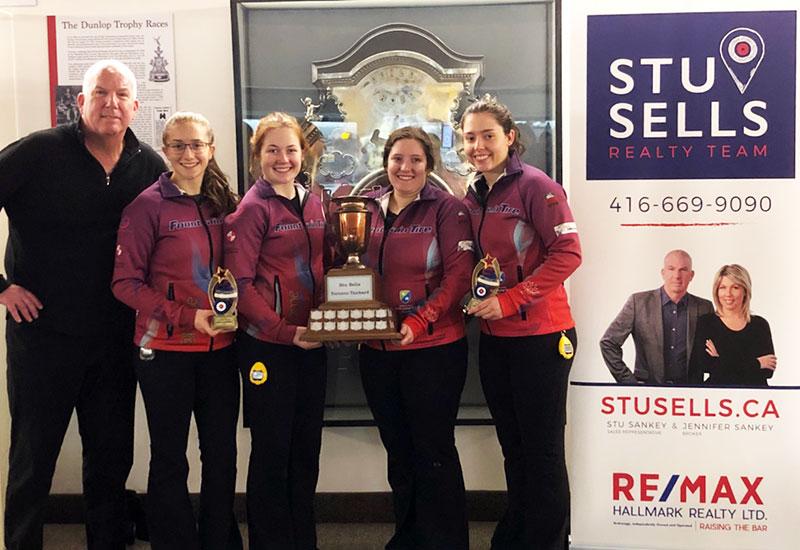 Kira Brunton wins StuSells Toronto Tankard