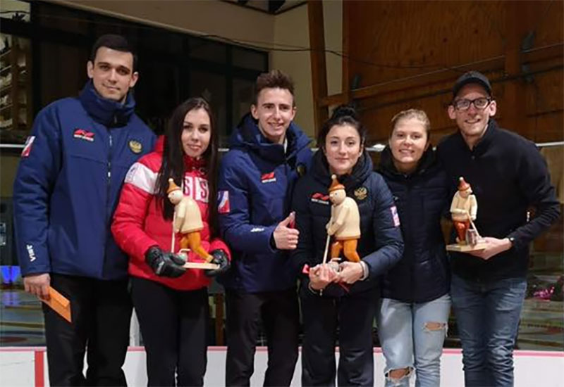 Komarova/Goryachev win WCT Mixed Doubles Cup Geising