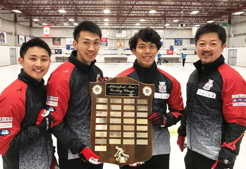 Yuta Matsumura wins Driving Force Abbotsford Cashspiel