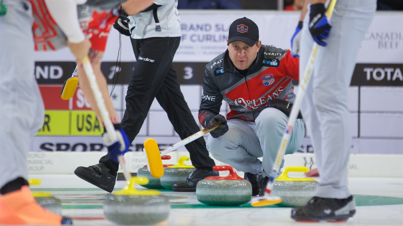 AMERICAN MEN PICK UP SECOND WIN AT CURLING WORLD CUP