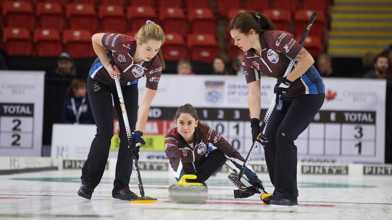 CURLING WORLD CUP UNDERWAY AT RALSTON ARENA