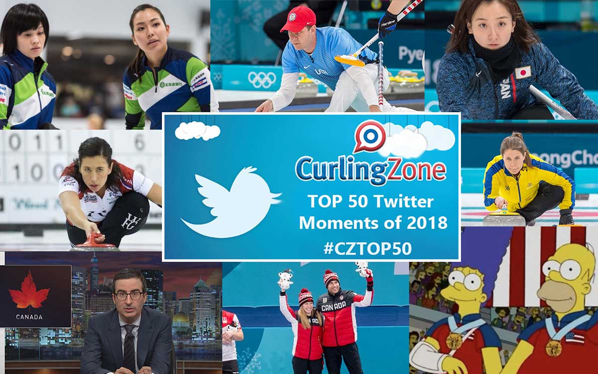 TOP CURLING STORIES OF 2018