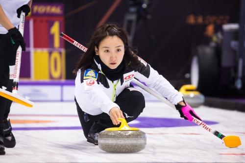 Japan's Satsuki Fujisawa wins Curling World Cup Omaha