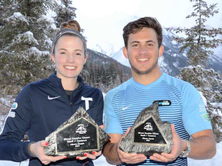 USA's Sarah Anderson/Korey Dropkin wins Qualico Mixed Doubles Classic