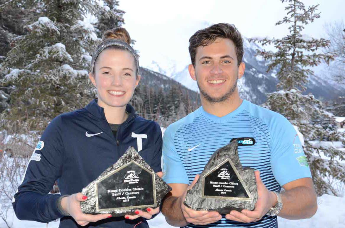 USA'S SARAH ANDERSON/KOREY DROPKIN WINS QUALICO MIXED DOUBLES CLASSIC