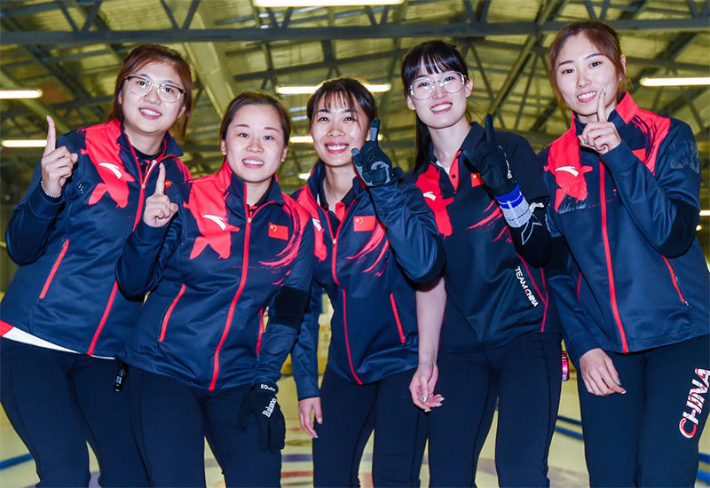 Chinese Women, Korean Men Earn Worlds Berths