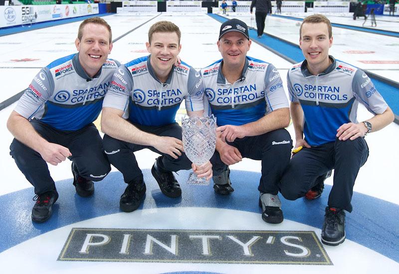 BRENDAN BOTTCHER WINS HUMPTY'S CHAMPIONS CUP