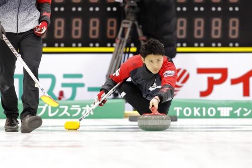 Matsumura wins Hokkaido Bank Curling Classic