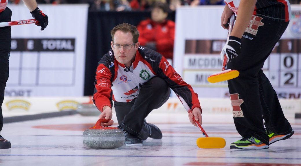 Canada's McDonald Wins on opening Uiseong International draw