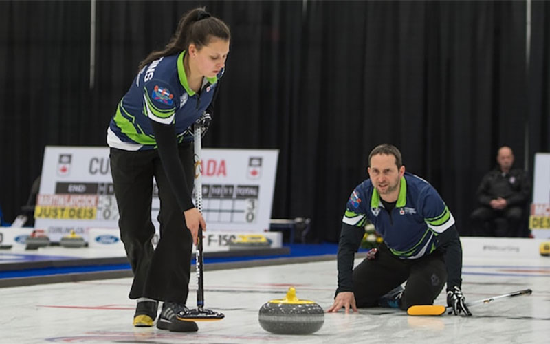 Mixed Doubles opens Canadian Curling Tour Circuit