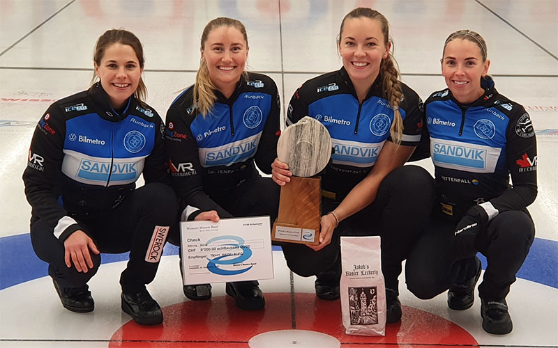 Hasselborg wins Women's Masters Basel