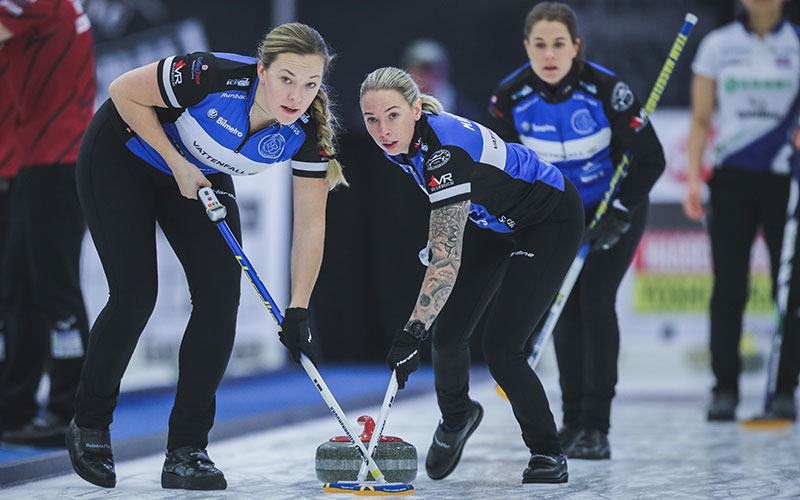 Hasselborg off to fast start at Women's Masters Basel