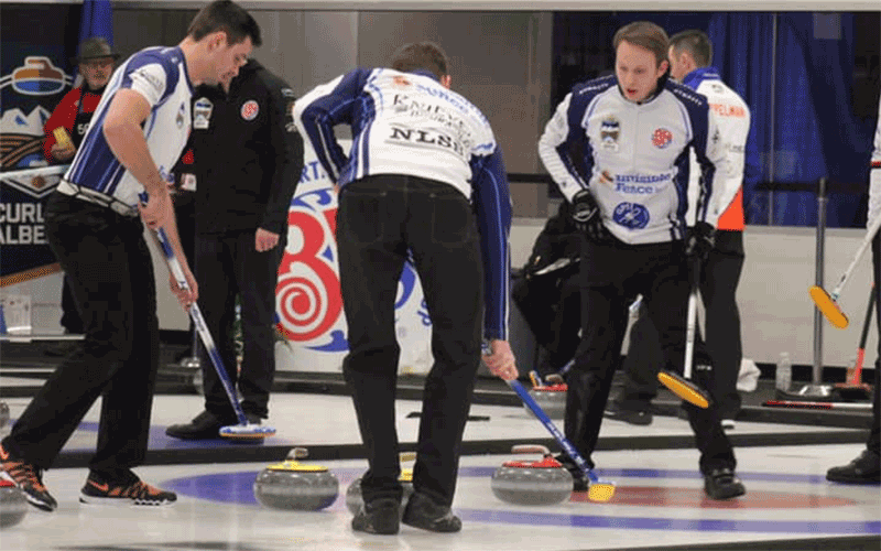 Harty Quietly Rising Through Alberta Curling Ranks