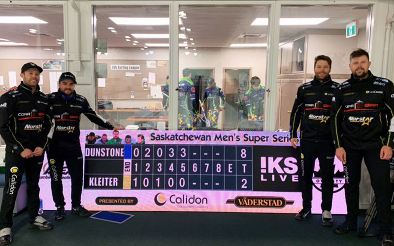 Dunstone Goes the Distance Winning Saskatchewan Super Series Title