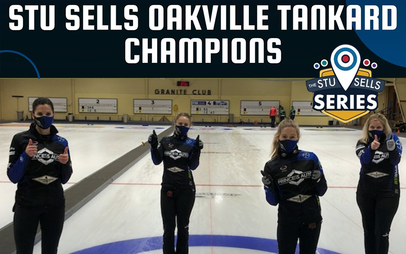 CURLING IS BACK, WITH THE STU SELLS OAKVILLE TANKARD IN KITCHENER-WATERLOO