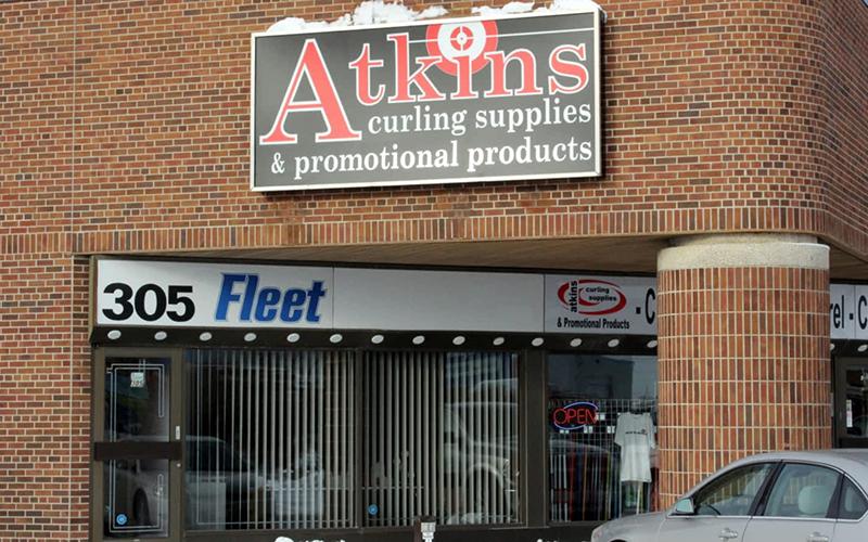 Atkins Curling Supplies in Winnipeg
