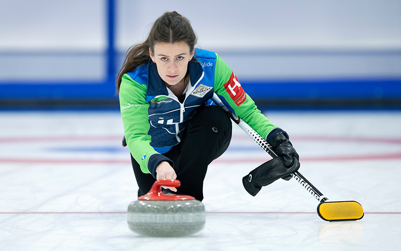 British Curling Mixed Doubles Underway in Stirling