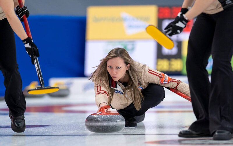 Curlers Adjusting to Life in the Scotties Bubble