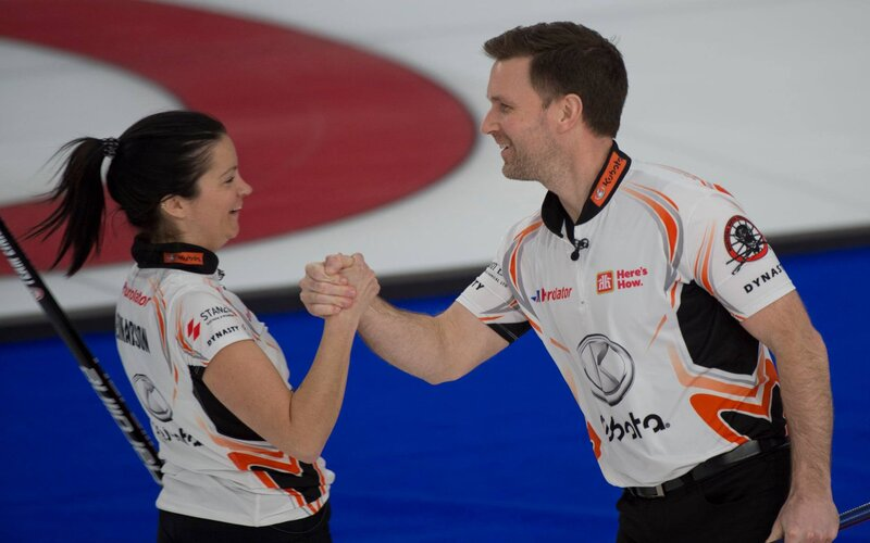 Einarson and Gushue Claim 2021 Canadian Mixed Doubles Gold