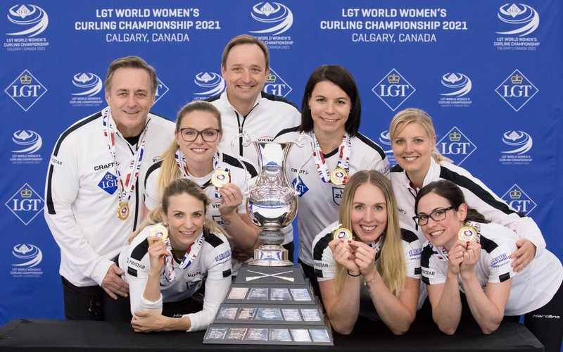 Switzerland Defeat RCF to Claim World Women's Title