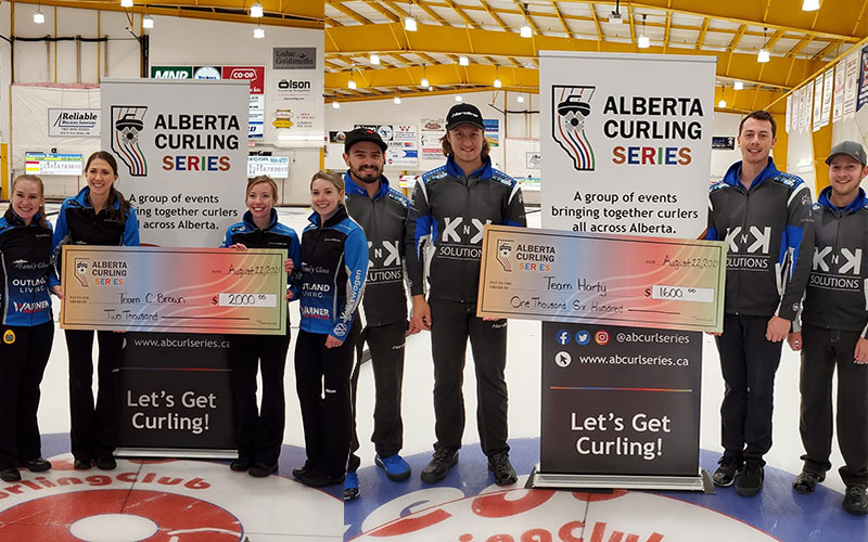 CORRYN BROWN, JEREMY HARTY WIN INAUGURAL ALBERTA CURLING SERIES EVENT