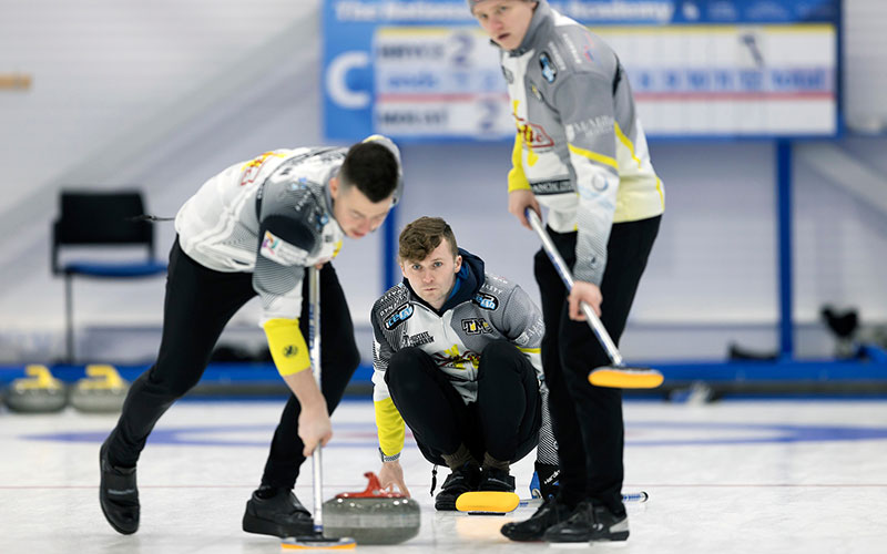 Mouat's Men Continue Exceptional Form in Canada