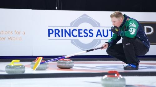 Calvert Looking Ahead to Three Weeks on 'Curling Trail'