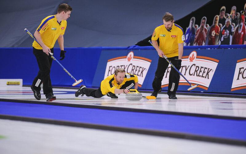 Edin Wins Nufloors Penticton Curling Classic